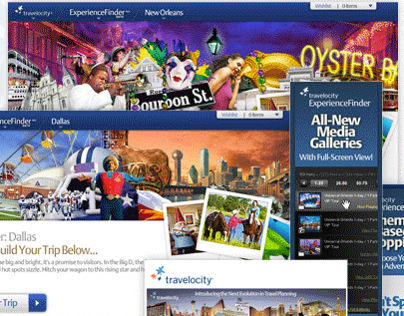 Travelocity Experience Finder