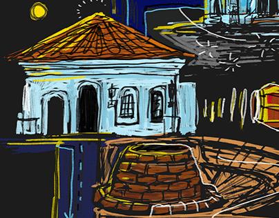 Exposição Linha Preta Curitiba (cartaz)