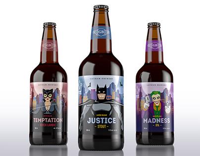 Gotham Brewery kraft beer