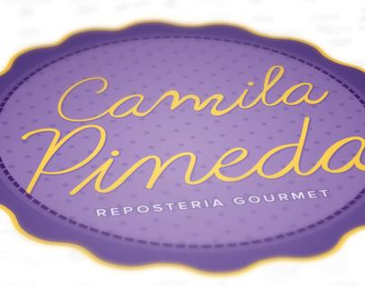 Camila Pineda - Repostería Gourmet | Branding