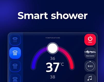 Concept for Smart Shower