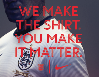 Nike: England National Team Kit Launch