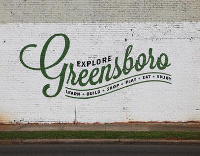 Explore Greensboro Mural
