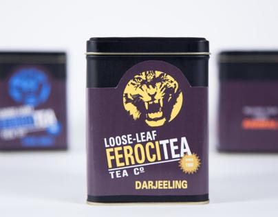 'Ferocitea' Tea Packaging/Branding