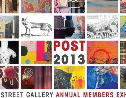 Annual POST Exhibition at 3rd Street Gallery