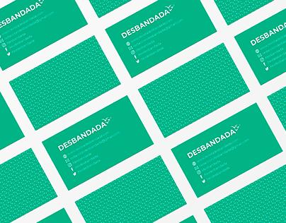 Brand Identity Design - Desbandada magazine