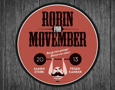 Robin For Movember