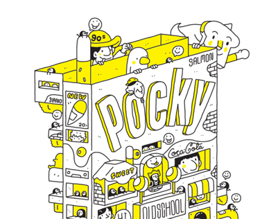 POCKY : OLDSCHOOL 2 BOOKS