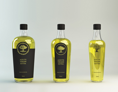 olive oil bottle concept // B&A