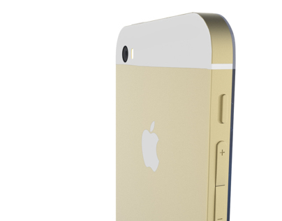 iPhone 6 Gold Concept