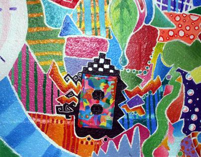 Sandy Spring Friends School Mural #1 - Energy
