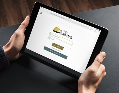 Hotel Manager - Concept responsive web site.