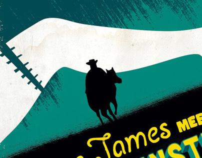 Jesse James Meets Frankensteins Daughter - Poster