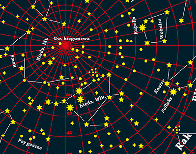 Map of The Northern Sky