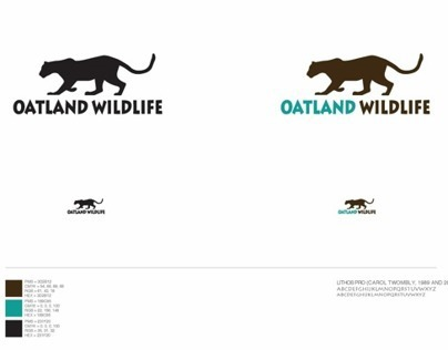 Oatland Wildlife Logo Design