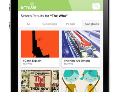 Redesign Smule Website with Responsive Design