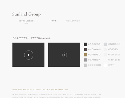 Sunland Website Style Guide