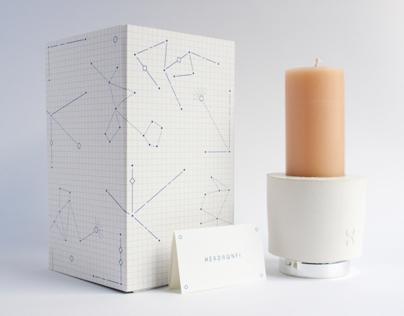 Xerdawnfi Candle (say: zer-dawn-fee)