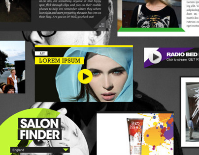 TIGI BED HEAD online fashion community