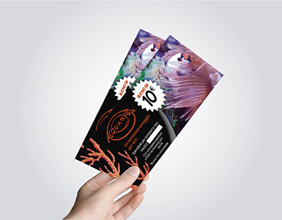 Disegno e stampa di buono regalo Acquarius360°
