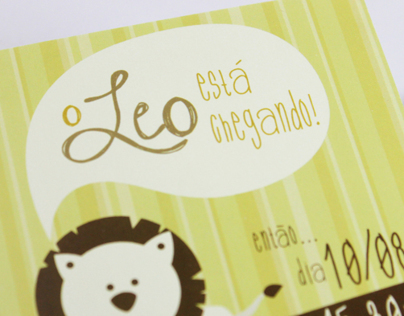 Leo's Baby Shower