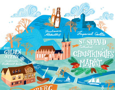 Jamie Magazine Nuremberg map
