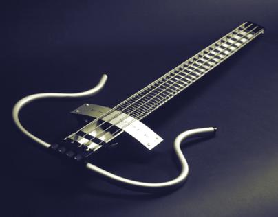 The Extruder - Bass Guitar Concept