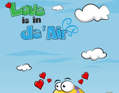 Love is in De Air