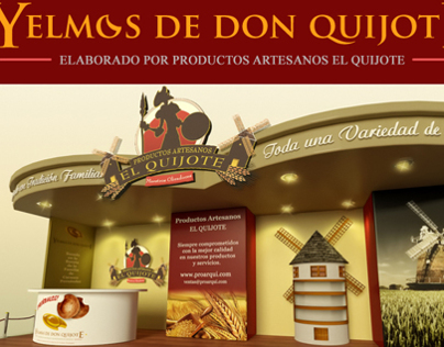 Exhibit Kiosk - El Quijote
