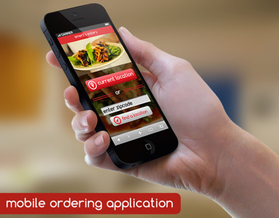 mobile ordering application
