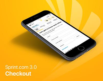 Sprint.com Checkout 3.0