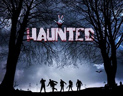 Haunted - Book Cover Design