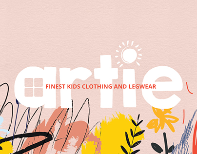 Website for Artie   Finest kids clothing and legwear