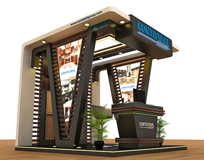 Contistahl Group 3x3 indoor Booth
