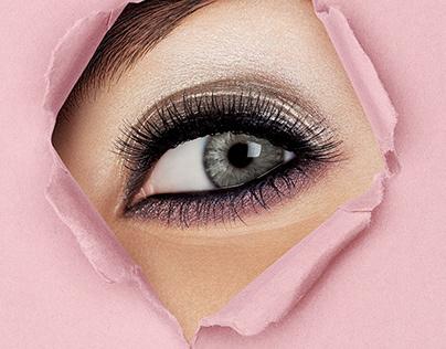 Harper's Bazaar special beauty project for Lancôme, YSL