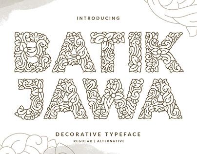 Batik Jawa Font