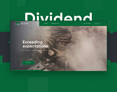 Dividend | Landing page