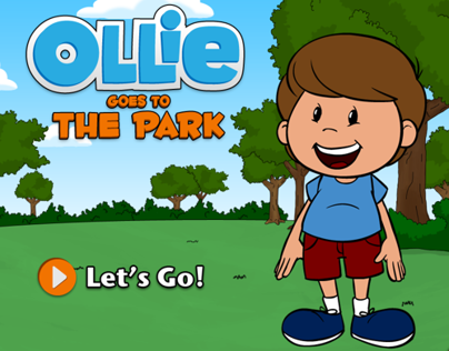Ollie Goes to the Park - iPad Storybook App