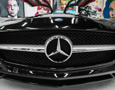 Lou La Vie's Mercedes Benz SLS AMG