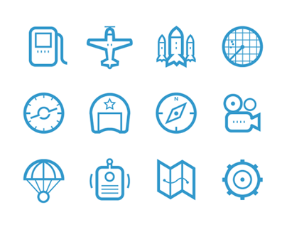 WWII Air Fight Game icons