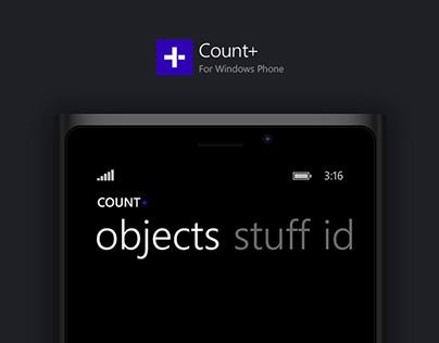 Count+ for Windows Phone
