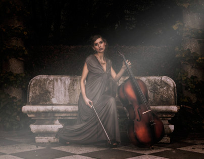Editorial Retouch (Fantasy cello)