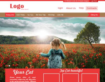 layout web demo