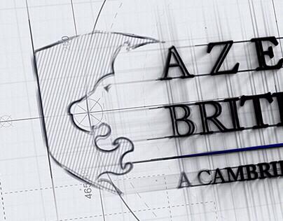 Azerbaijan British College Logo Branding