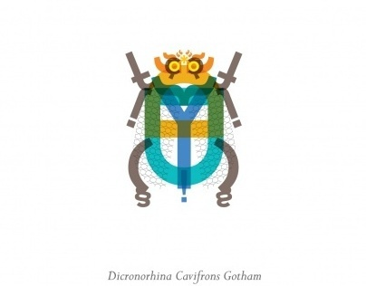 Typographic Entomology
