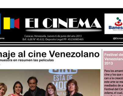 Pagina Principal de Periodico Creativo