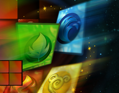 Puzzle Fantasy-Android Game UI