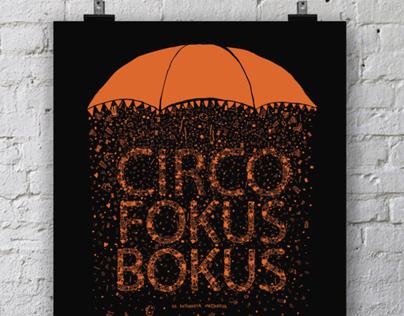 Afiche de Teatro - Circo Fokus Bokus