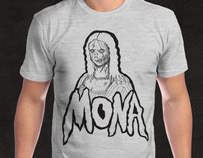 Zombie Mona Lisa (Camisetas)