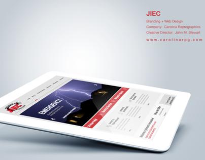 JIEC Website Design